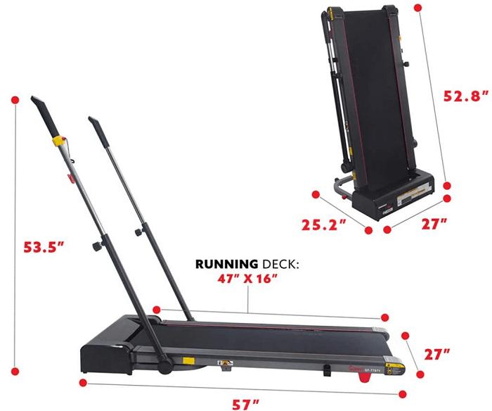 Sunny Health Trekpad with Arm Exercisers (SF-T7971)
