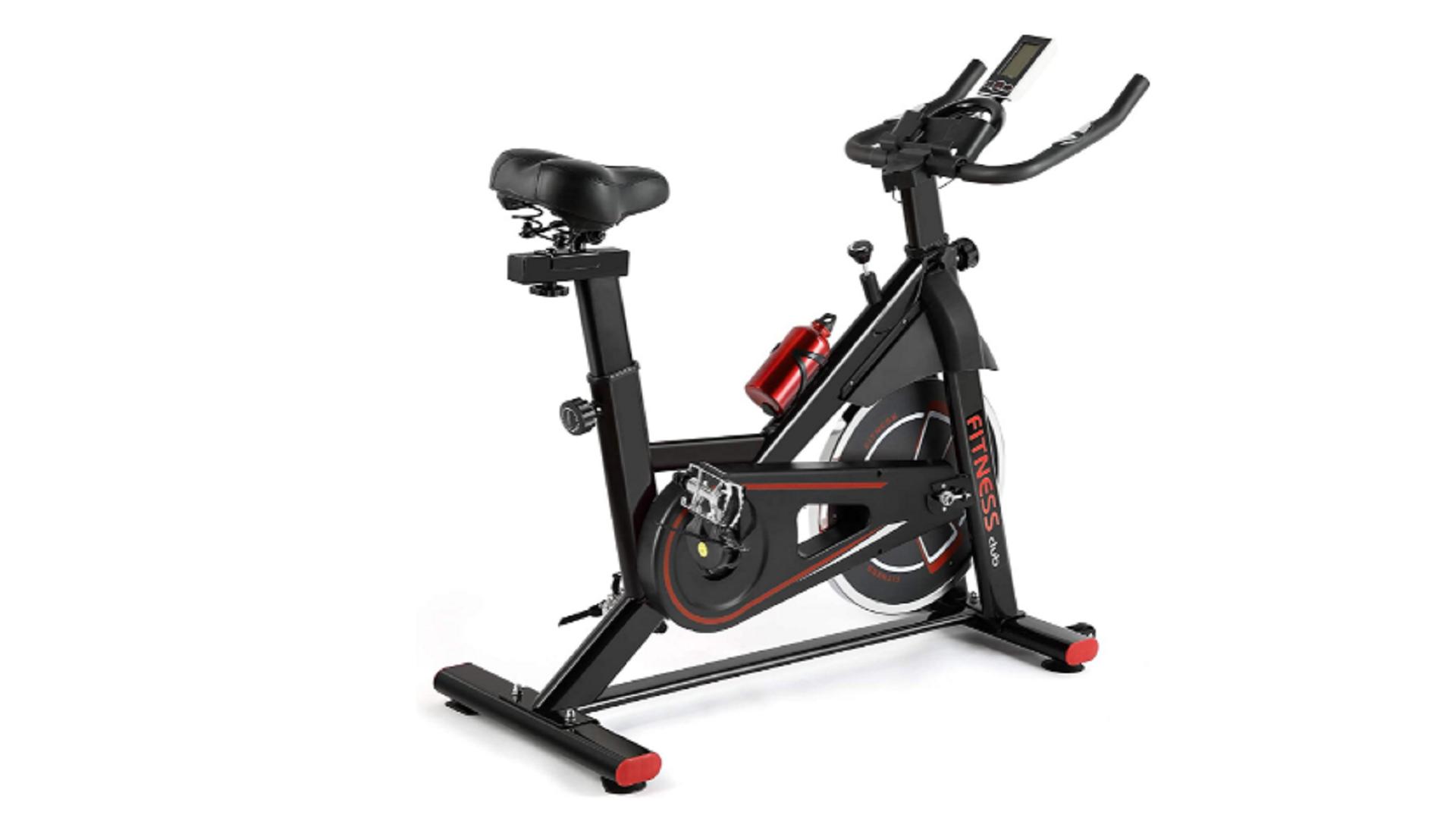 flywheel home magnetic stationary bike
