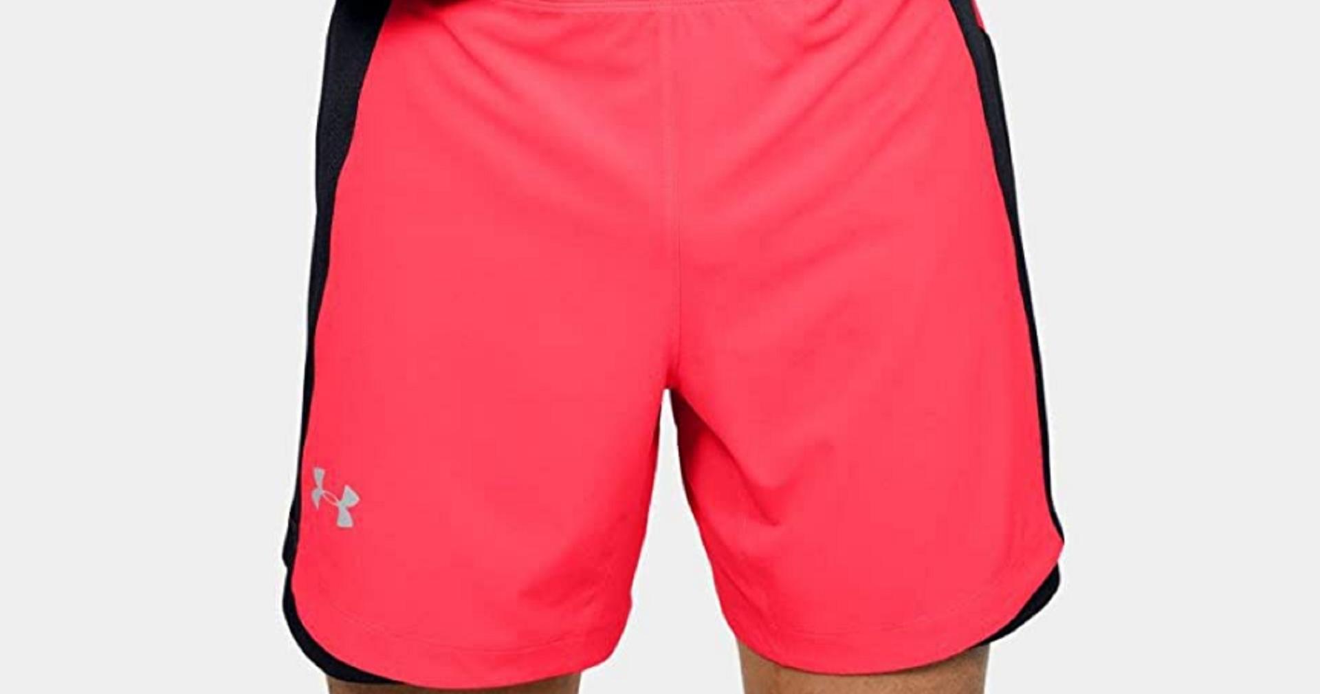 under armour men's running shorts