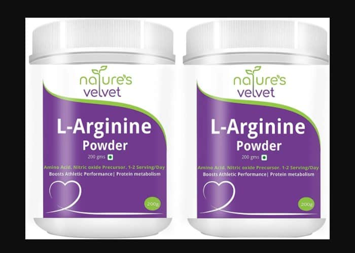 l-arginine natural pre-workout supplement