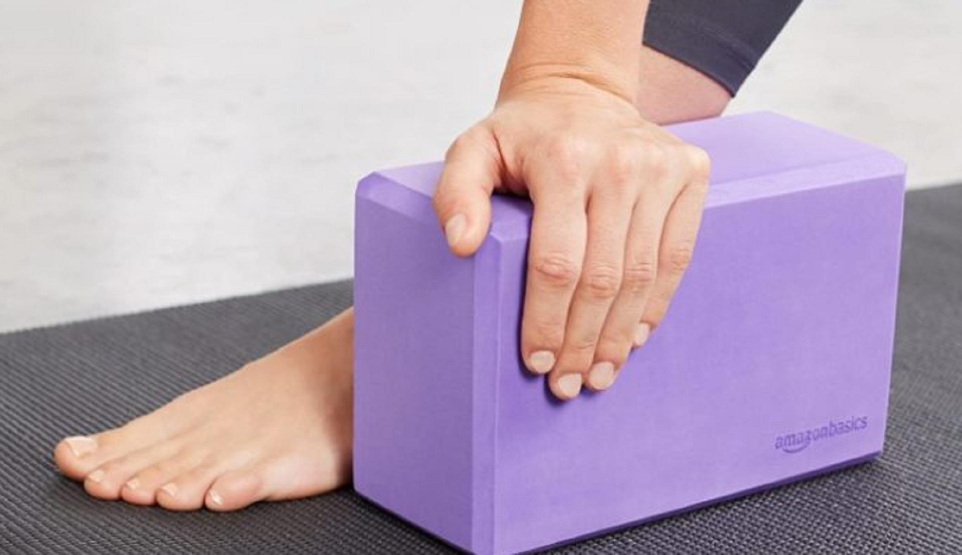 amazon basics yoga block