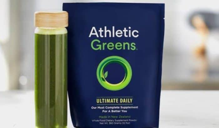 Athletics Greens powder