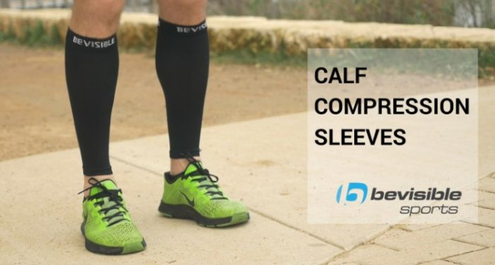 BeVisible calf compression sleeves