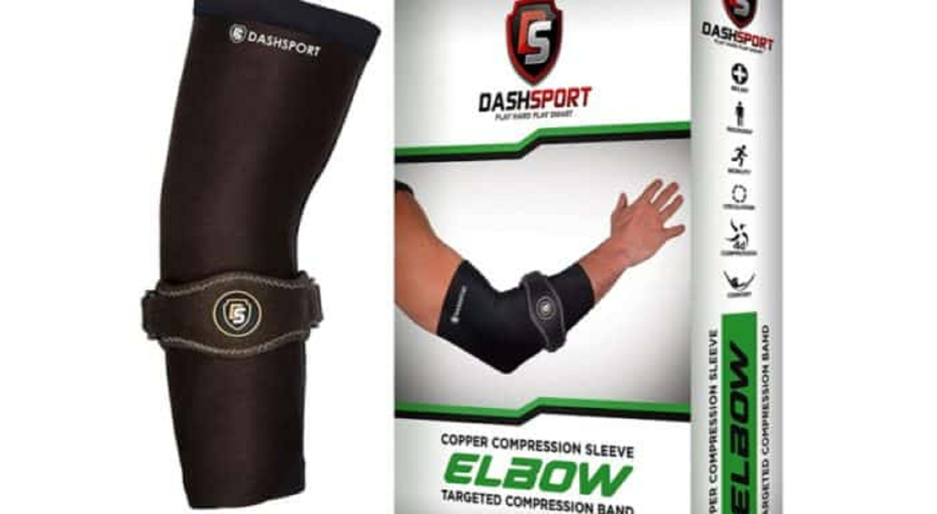 dashsport tennis elbow sleeve