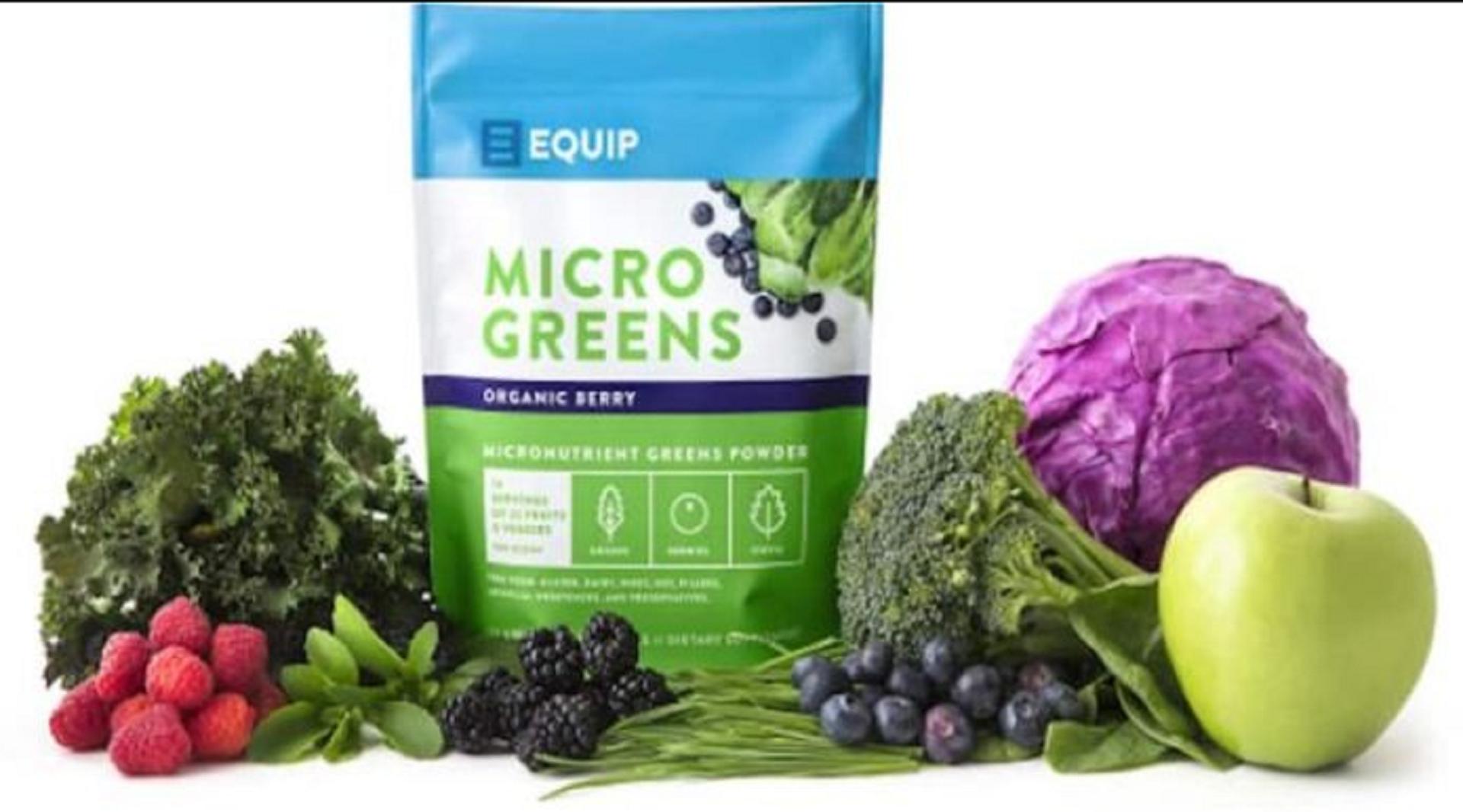 equip organic greens