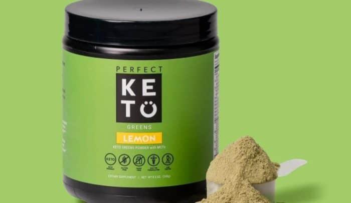 Keto MCT Greens Powder