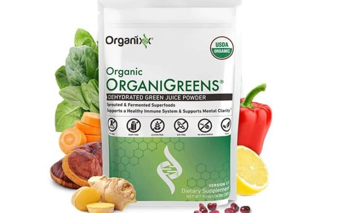 Organic Organigreens powder