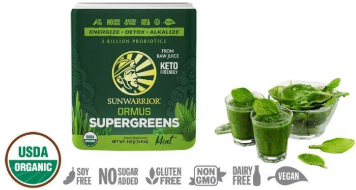 Ormus Supergreens green powder