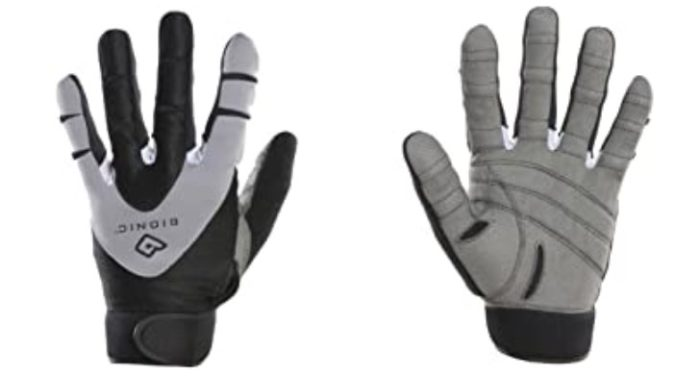 bionic full finger weight lifting gloves