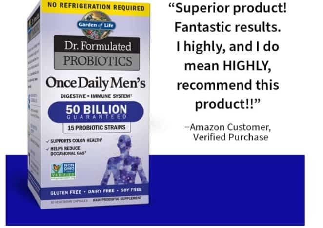 Garden of life - Dr. formulated probiotic