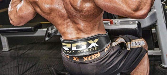 RDX Adjustable weightlifting belt