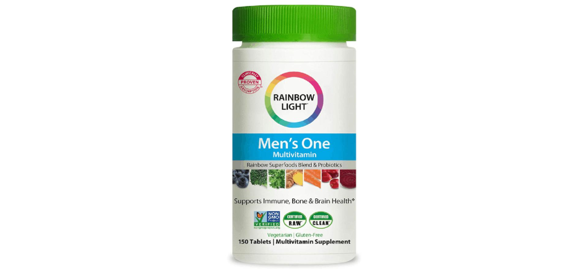 Rainbow Light Men's One Multivitamin