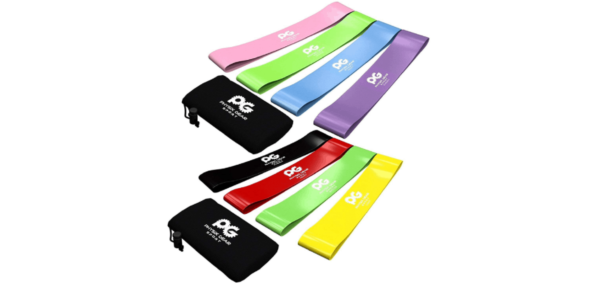 Skin-Friendly Non Latex Resistance Loop Bands