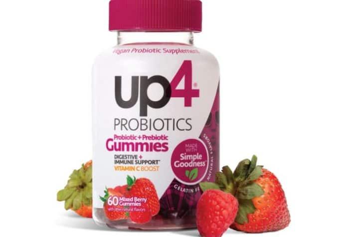 UP4 probiotic gummies