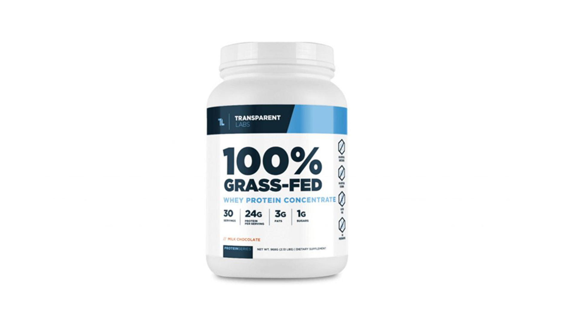 100% Grass-Fed Casein Protein by Transparent Labs