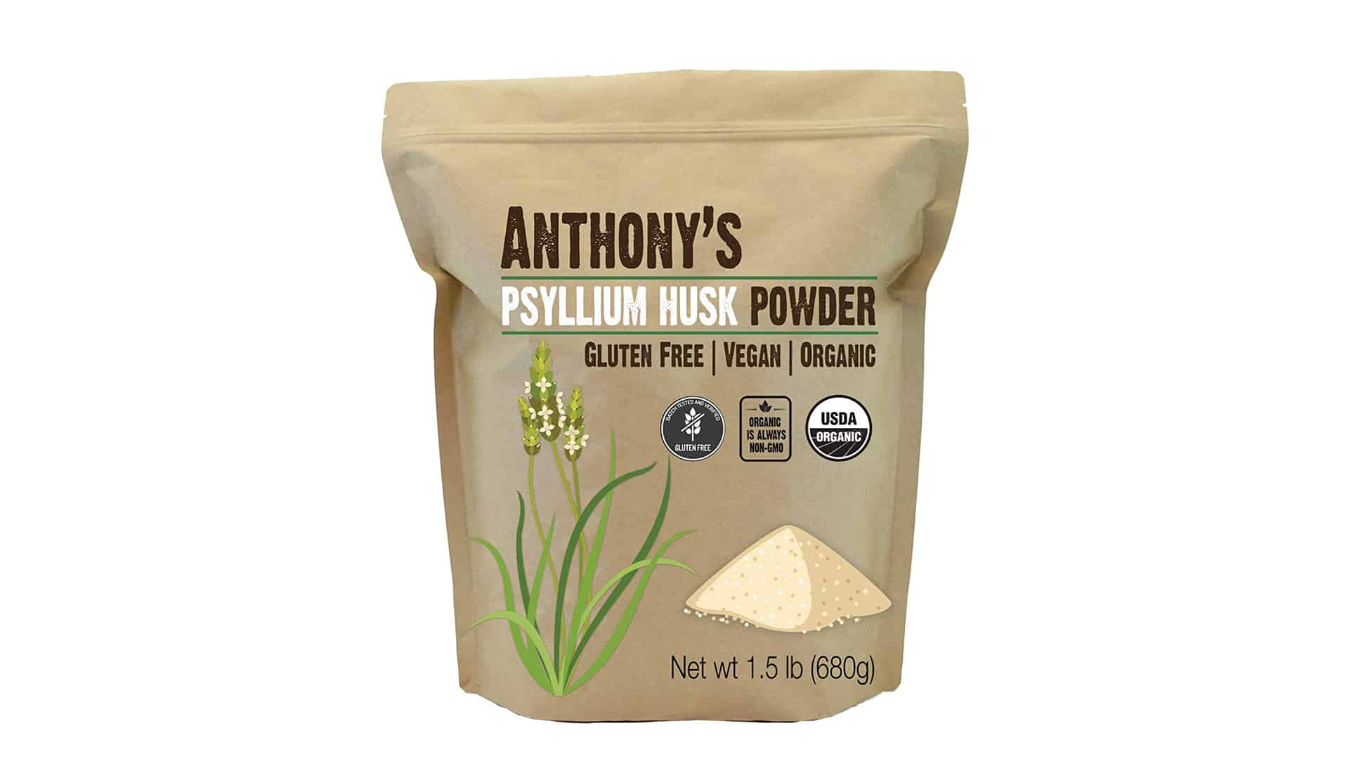 Anthony's Organic Psyllium Husk