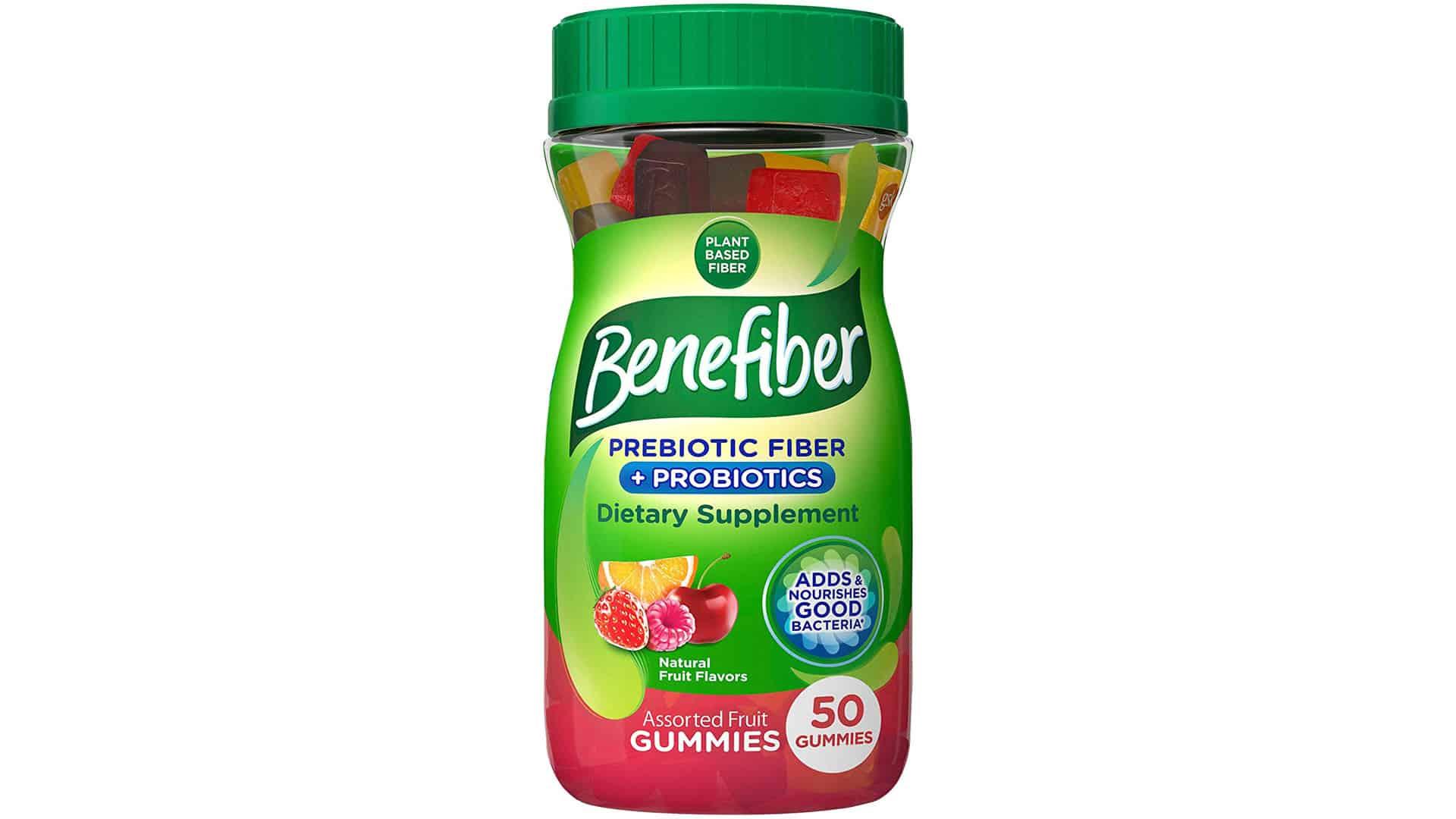 Benefiber Assorted Fruit Gummies