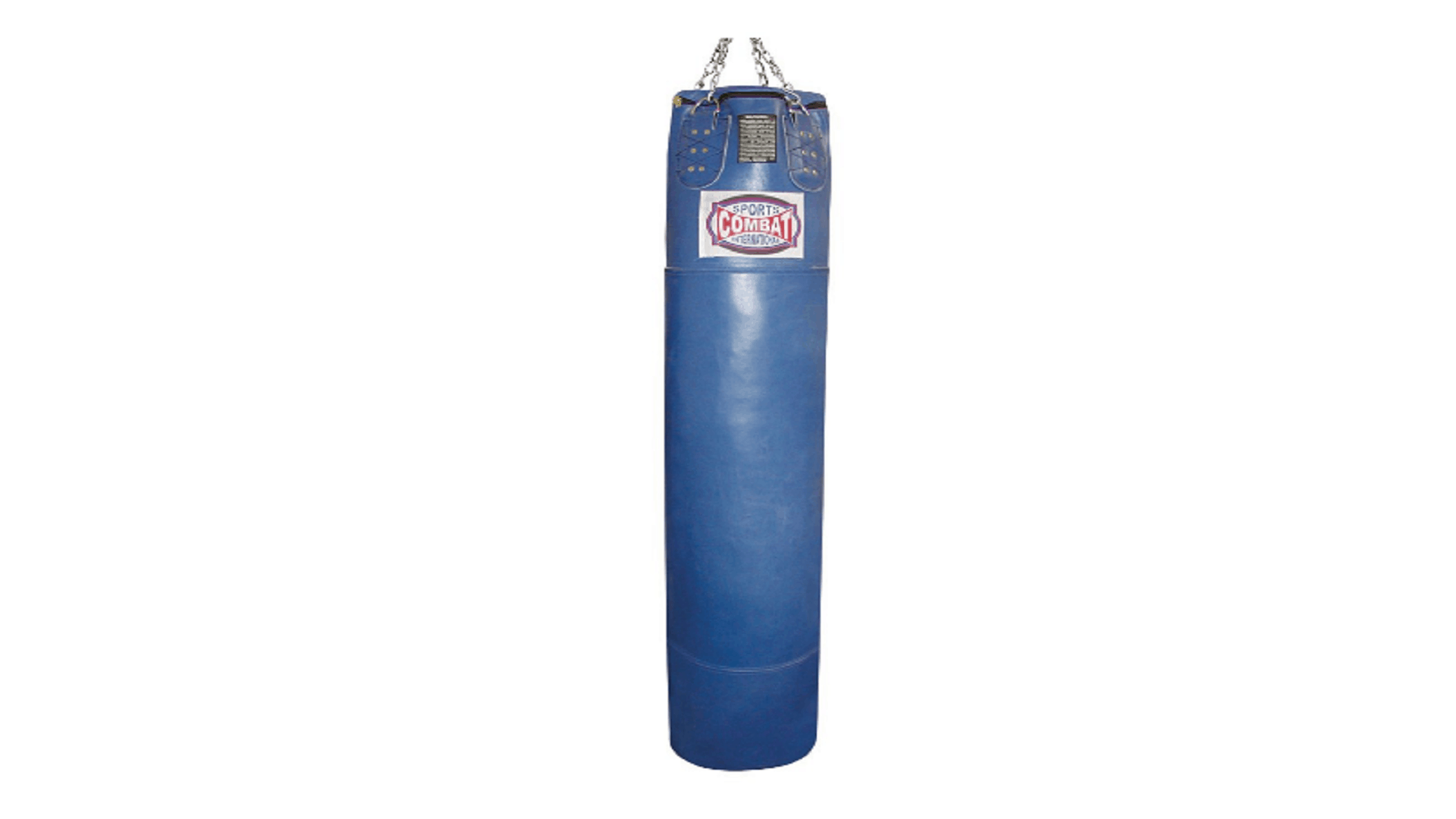 combat sports unfilled leather thai bag