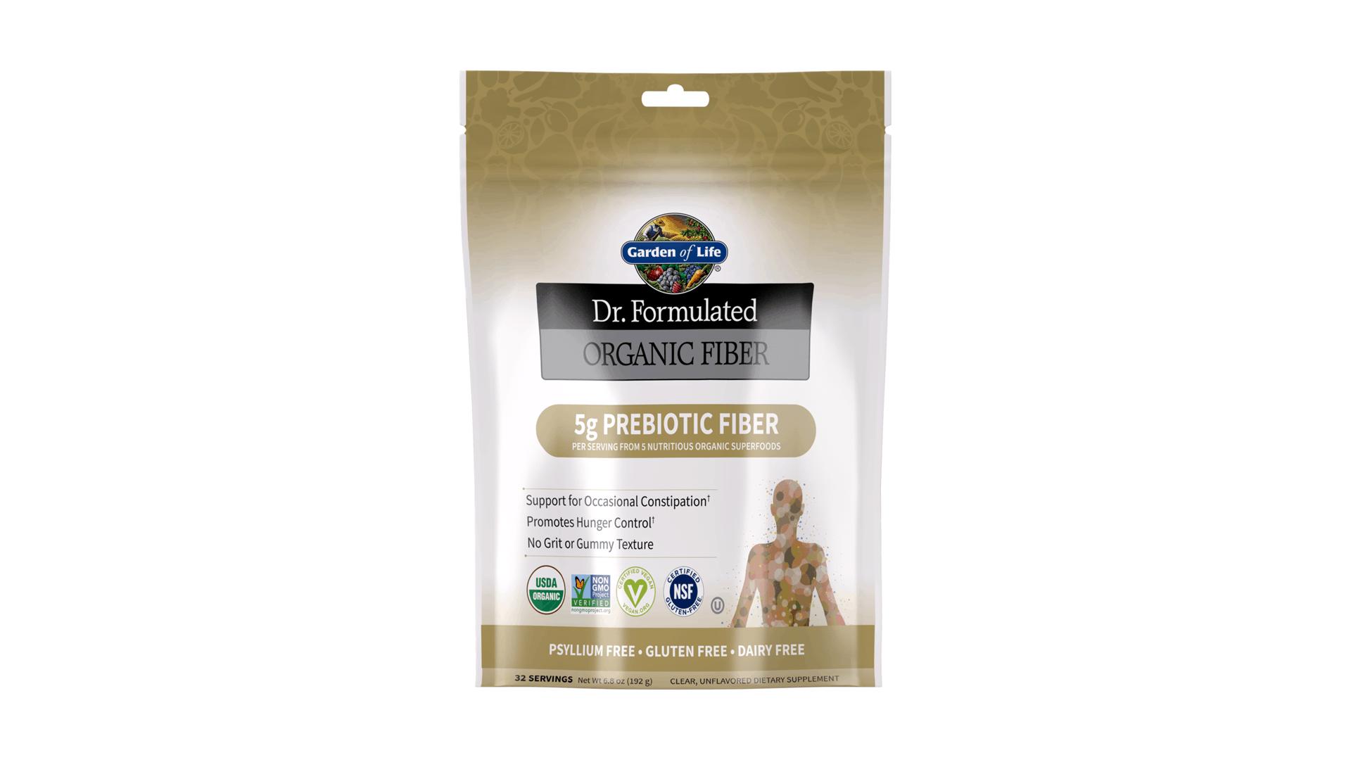 Garden of Life Dr Formulated Fiber supplements