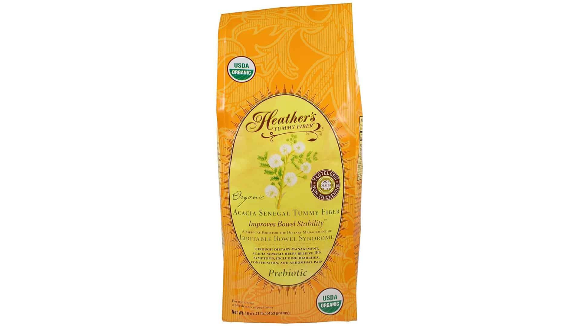 Heathers Tummy fiber POUCH Organic Acacia Senegal