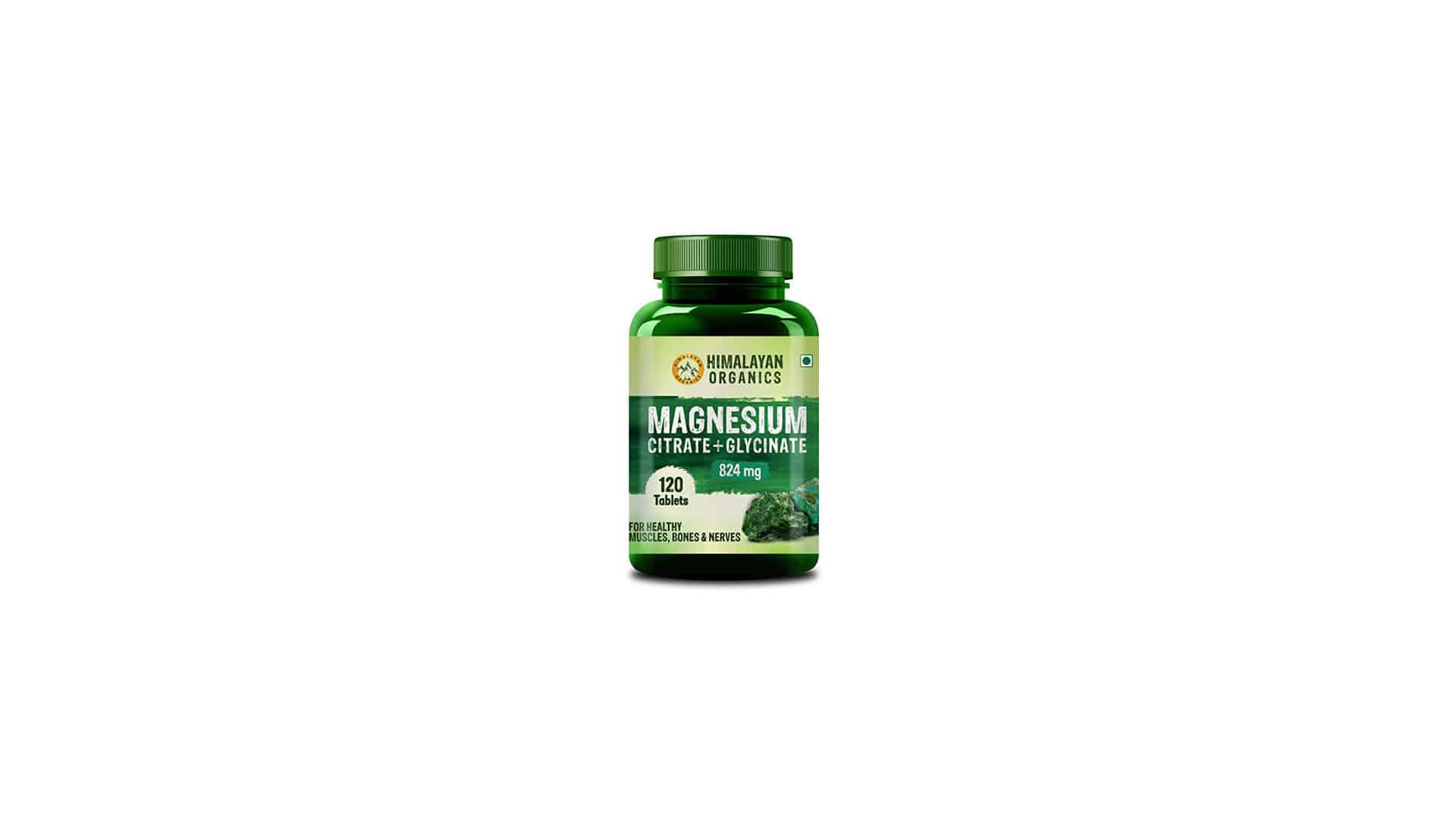 Himalayan Organic Magnesium Complex Supplement