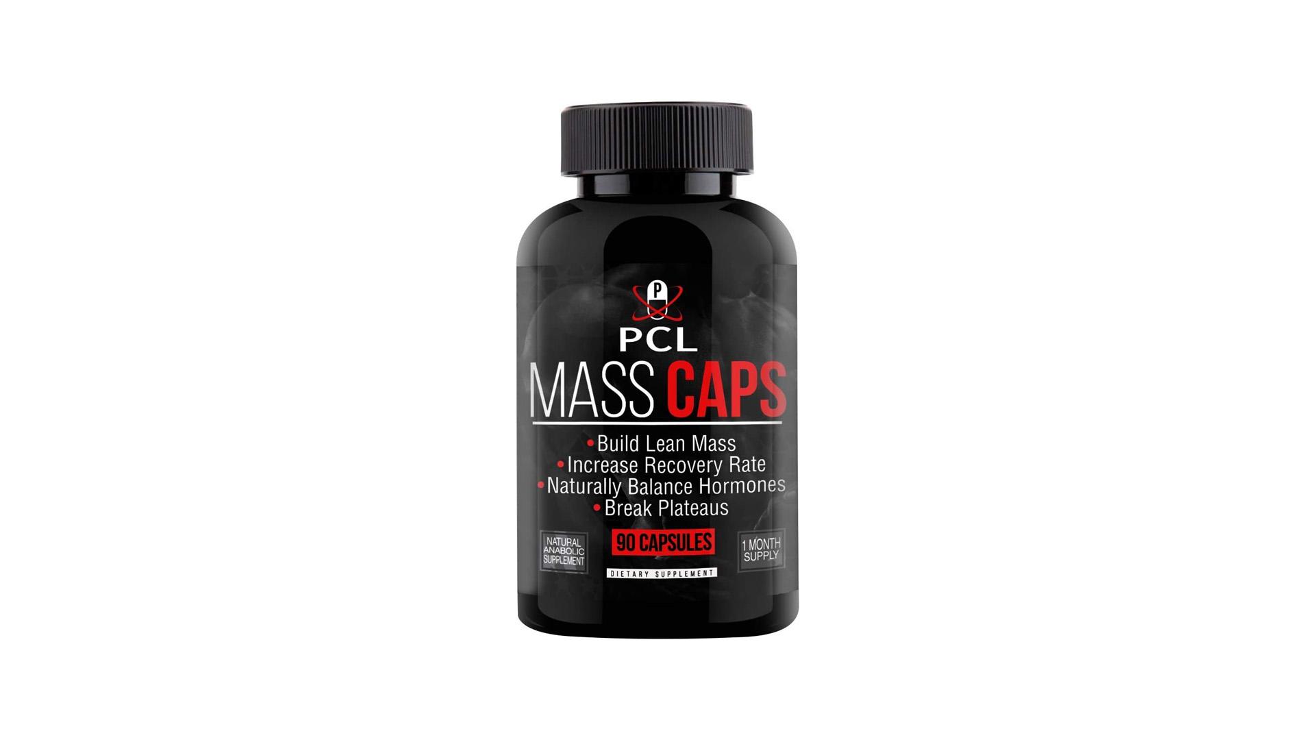 Mass Caps Muscle Builder