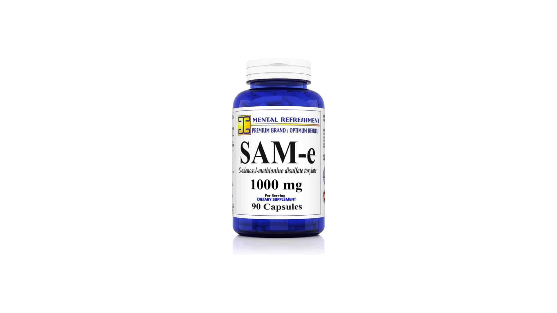 Mental Refreshment Nutrition SAM-e