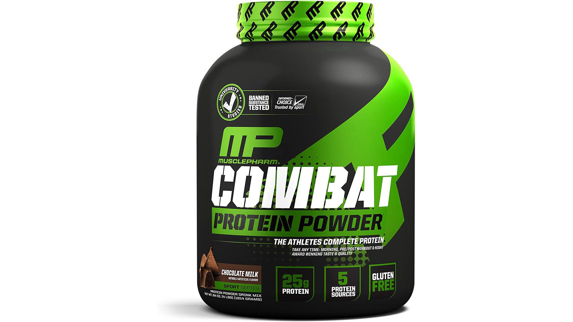 Muscle Pharm Combat 100% Casein Supplement