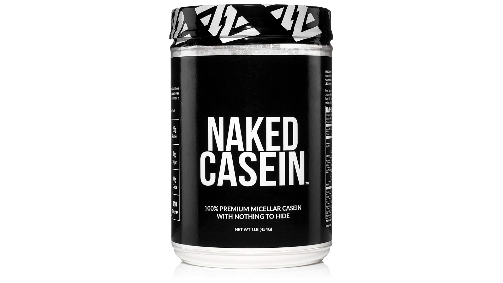 NAKED Nutrition Naked Casein Unflavored 100% Micellar Casein Protein