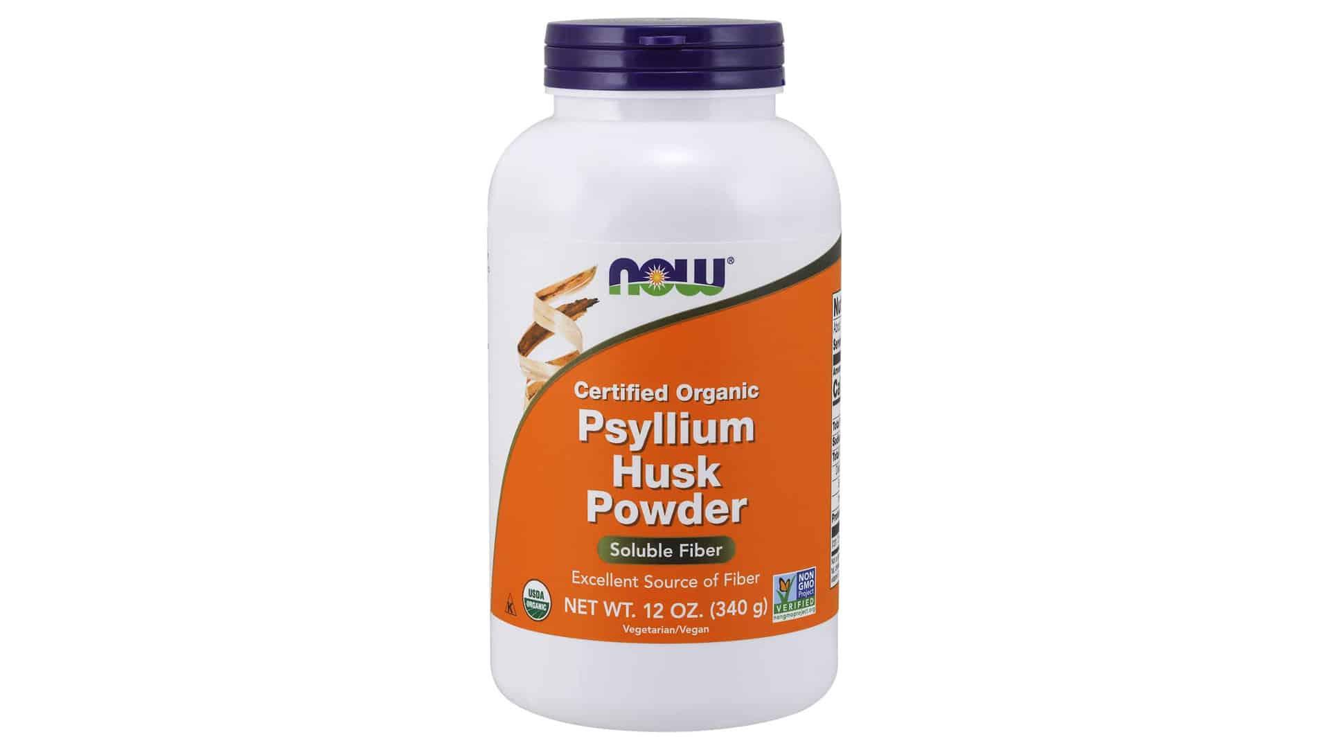 NOW Supplements Psyllium Husk Powder