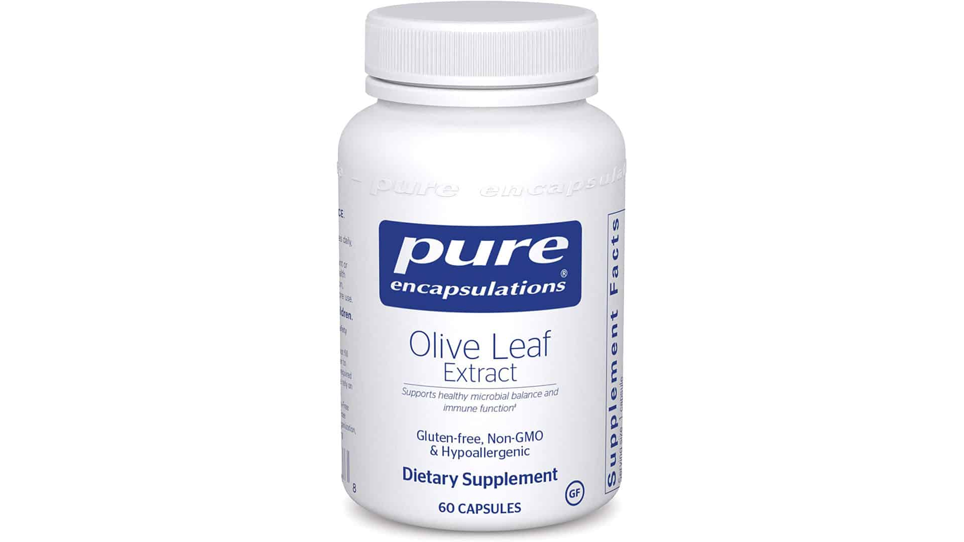 Pure Encapsulations Olive Leaf Extract