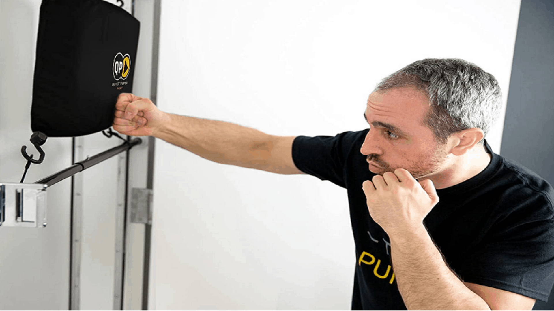 quite punch portable punching bag