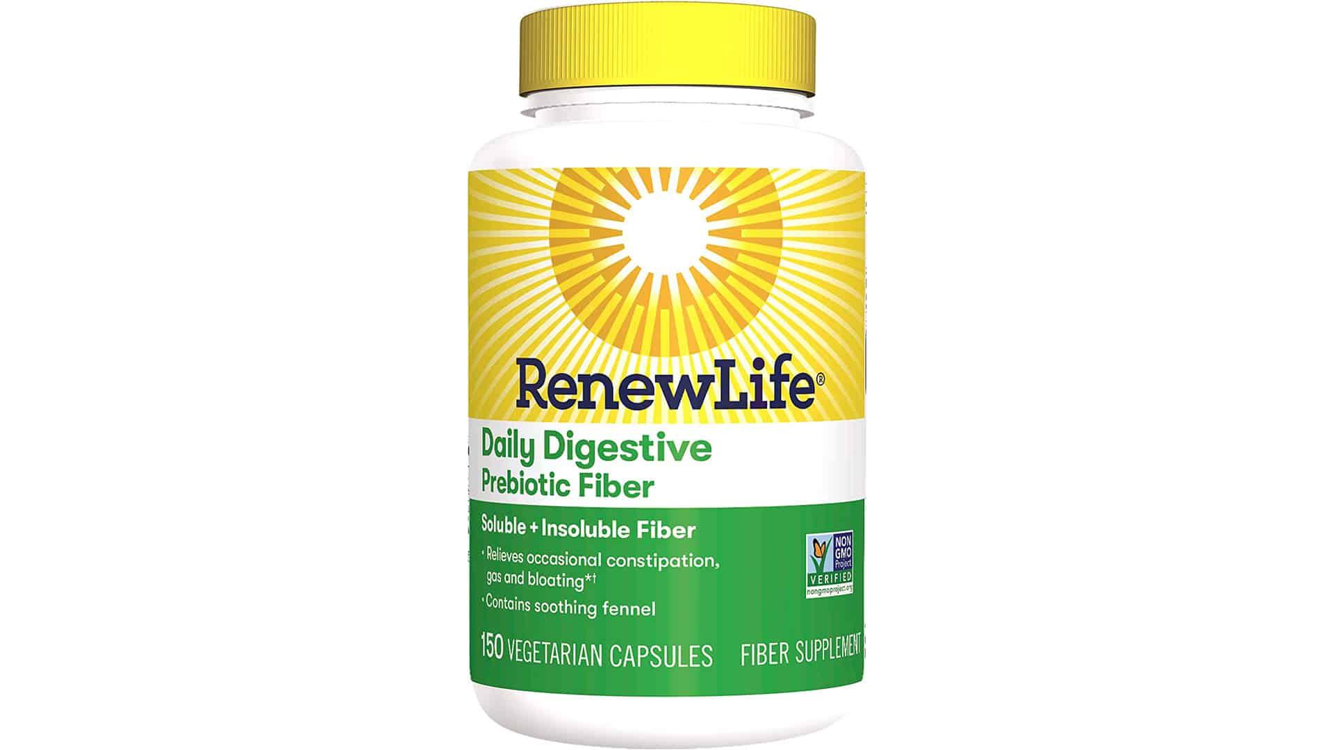 Renew Life Daily Digestive Prebiotic Fiber