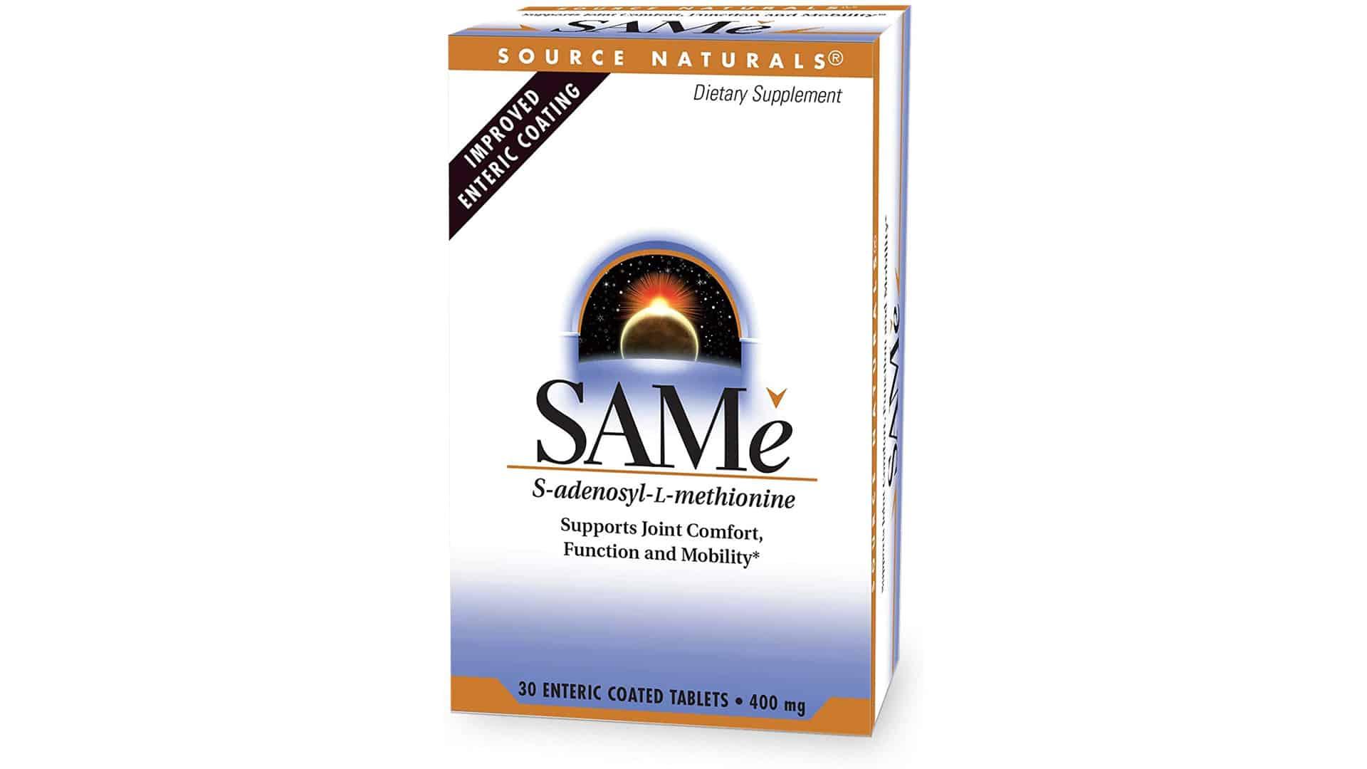 Source Naturals Double Strength SAM-e