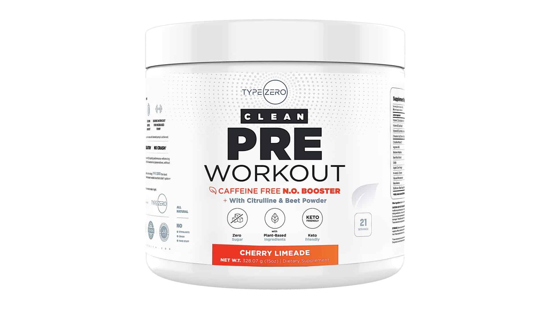 Type Zero Clean Pre- Workout