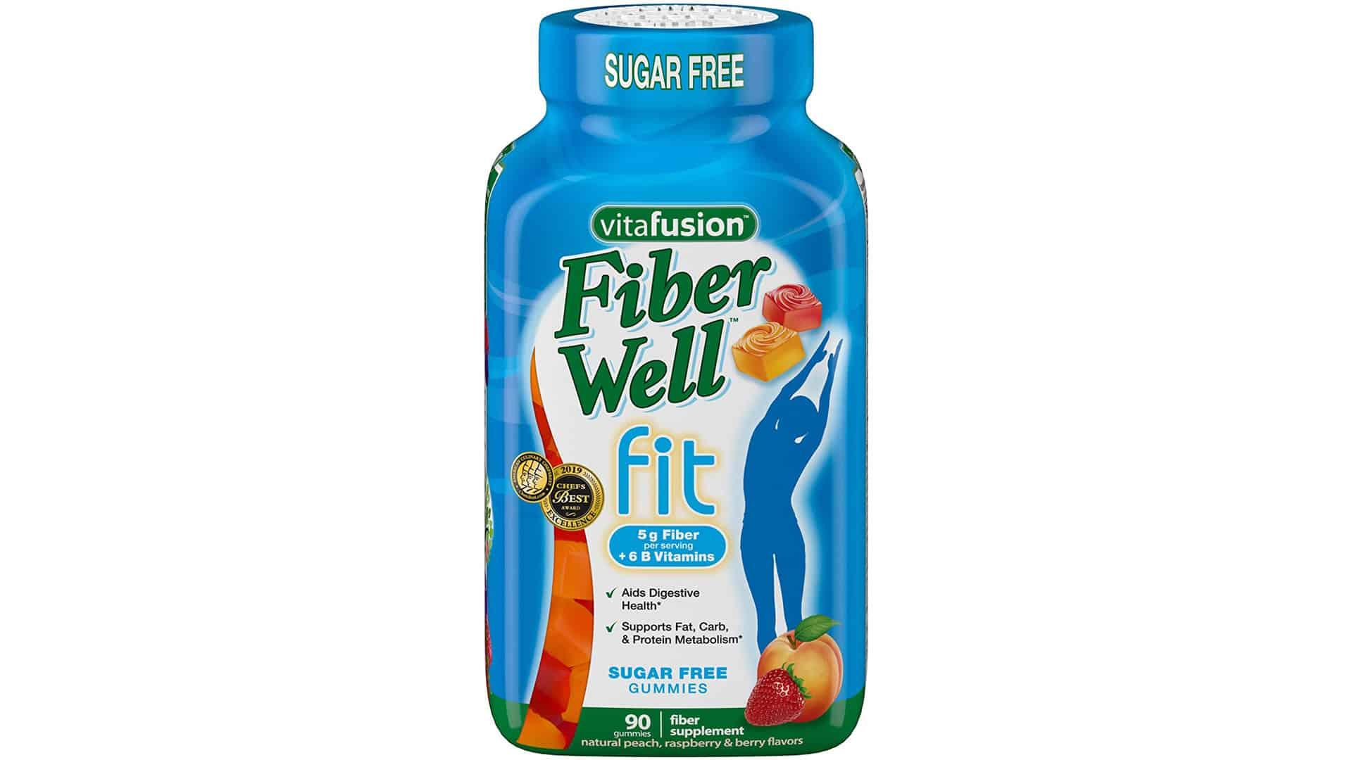 Vitafusion Fiber Well Fit Gummies Supplement