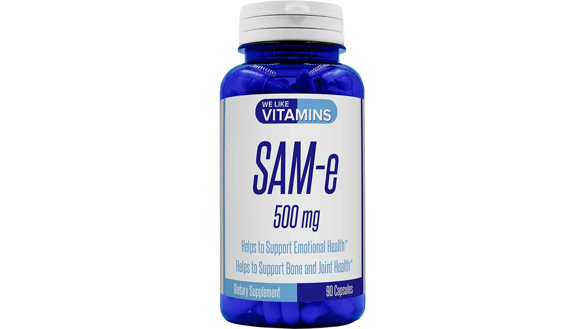 We Like Vitamins Best Value SAM-e