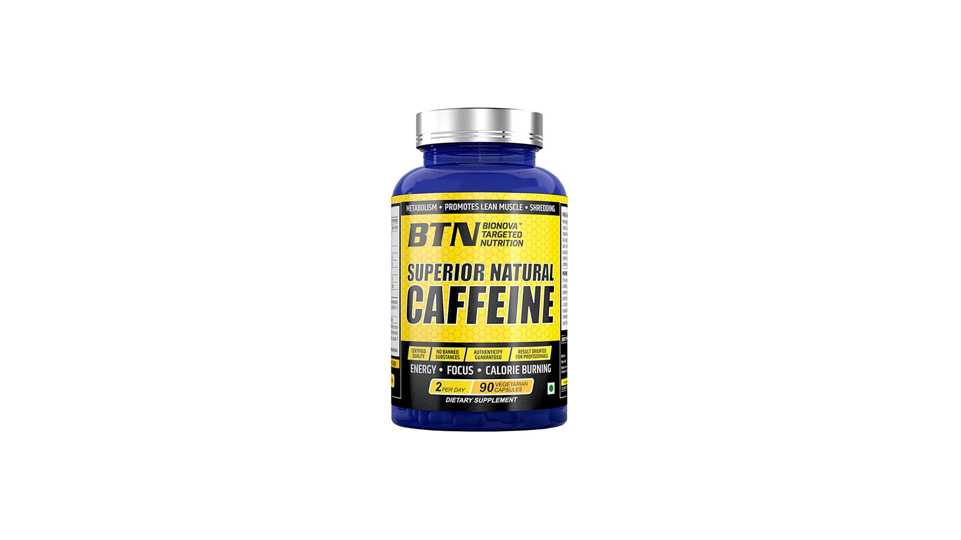 BTN Superior Natural Caffeine Supplement