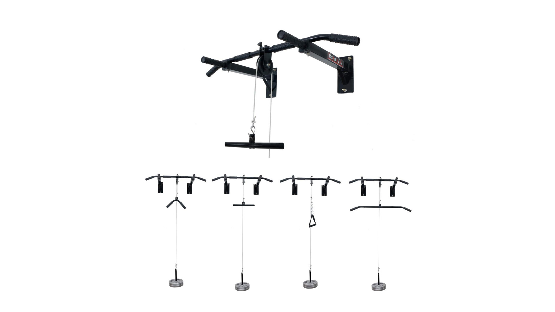 IBS Pull Up Bar Home Gym Solid Fitness Gym Accessories