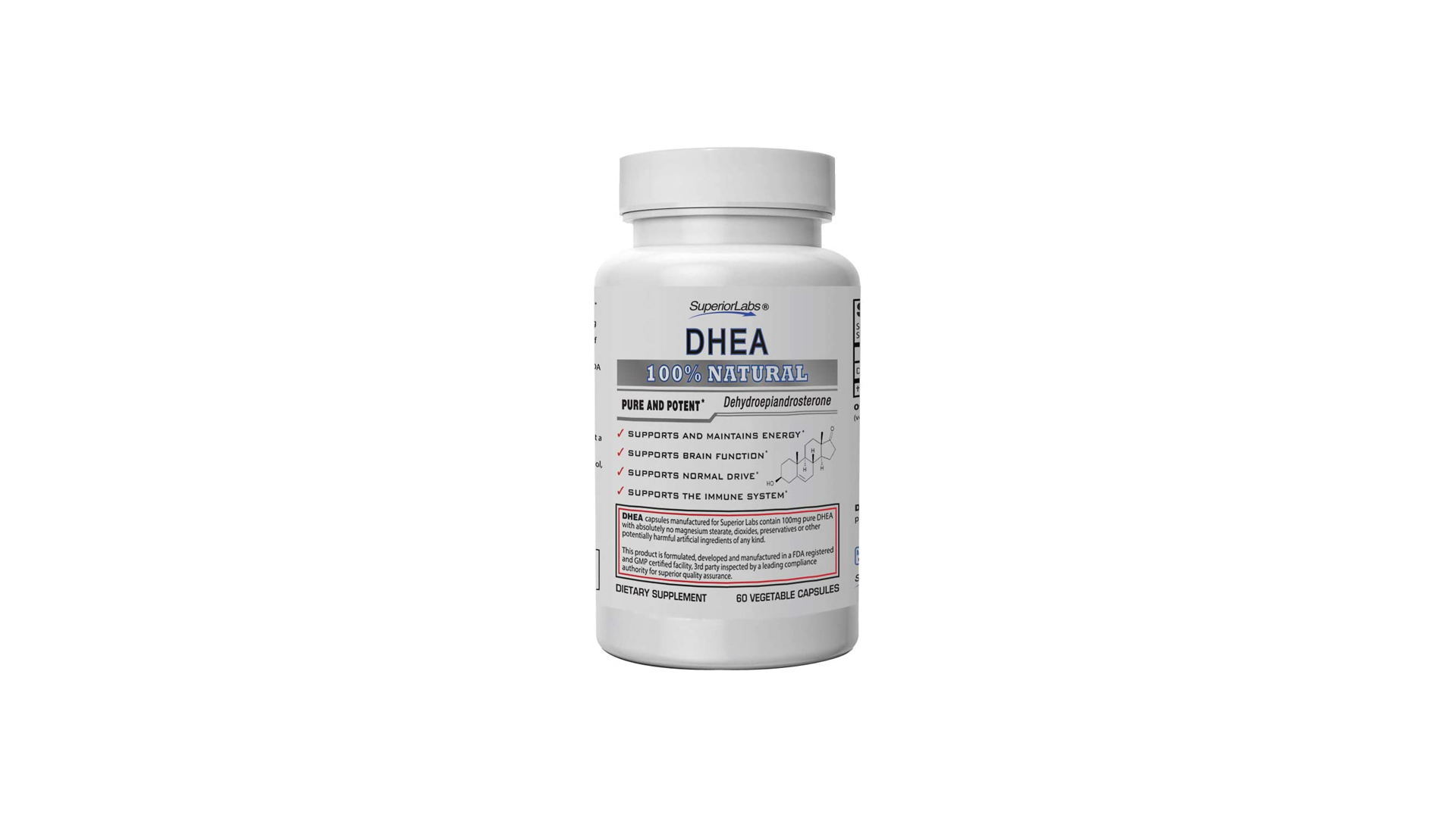 Superior Labs Extra Strength Natural DHEA