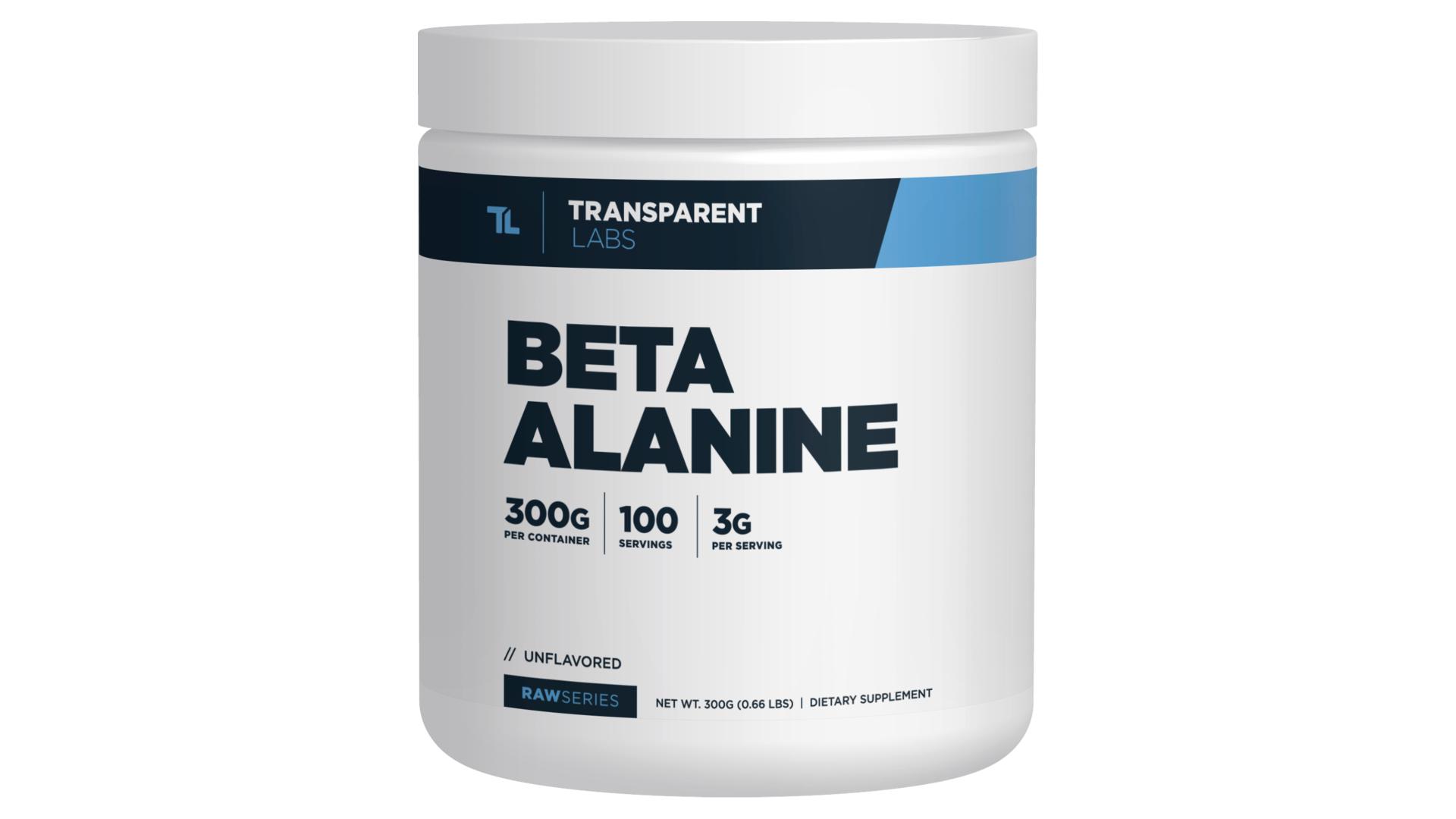 Transparent Labs RawSeries Beta-Alanine