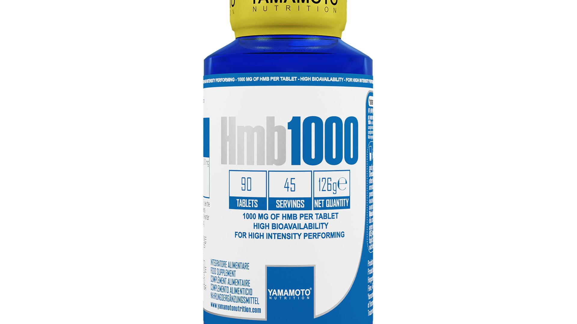 Yamamoto Nutrition HMB 1000 90 Tablets