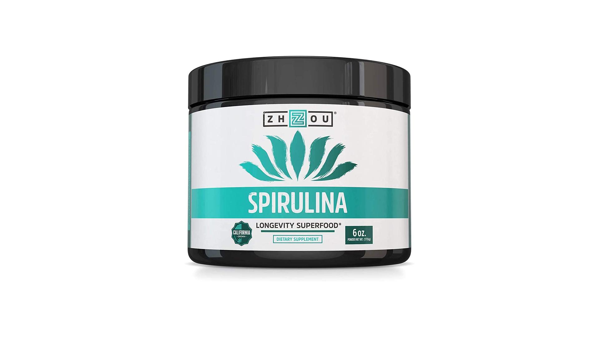 Zhou's Non-GMO Spirulina Powder