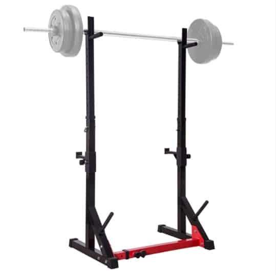 adjustable squat rack ollieroo duplexer