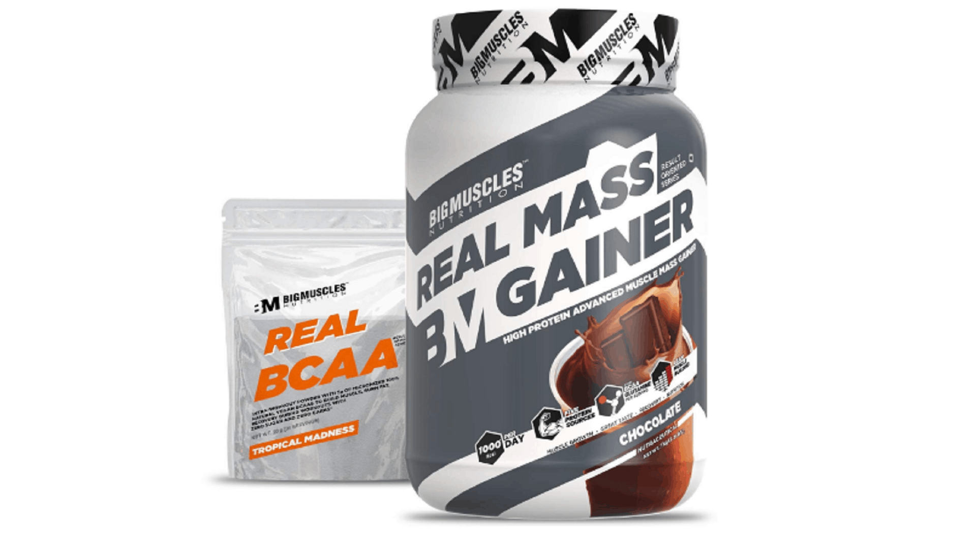big muscle real mass gainer
