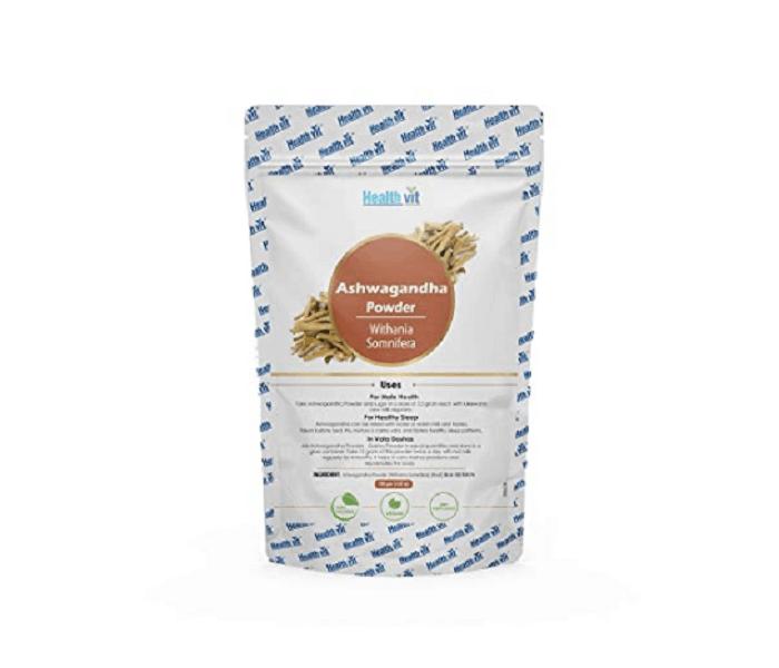 healthvit natural ashwagandha powder
