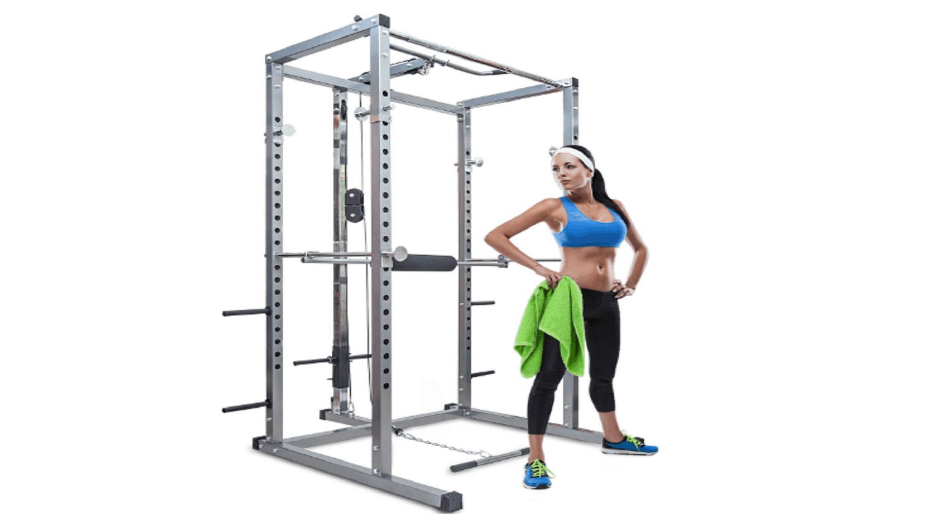 olympic squat cage of merax athletics