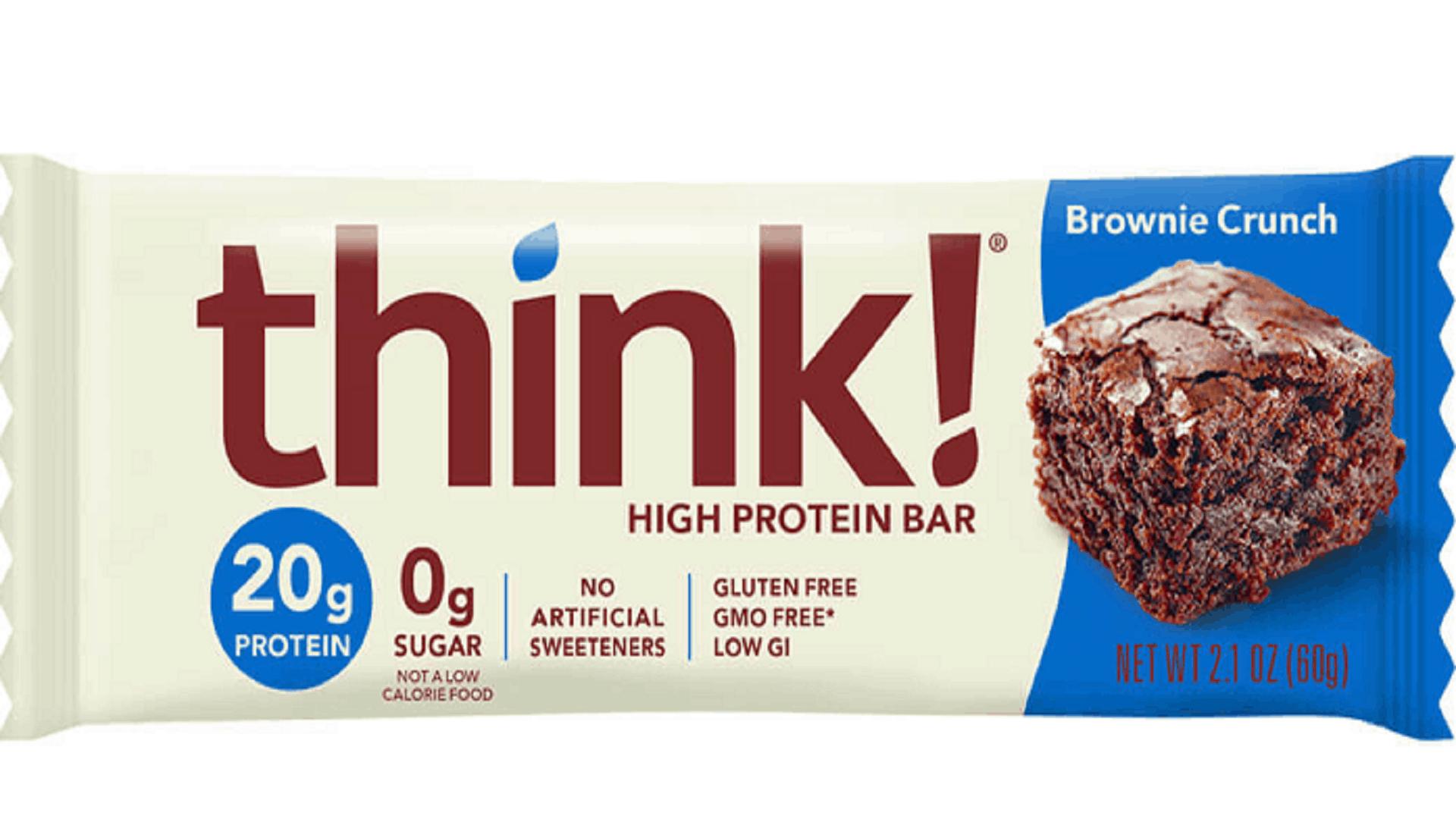 think protein bar