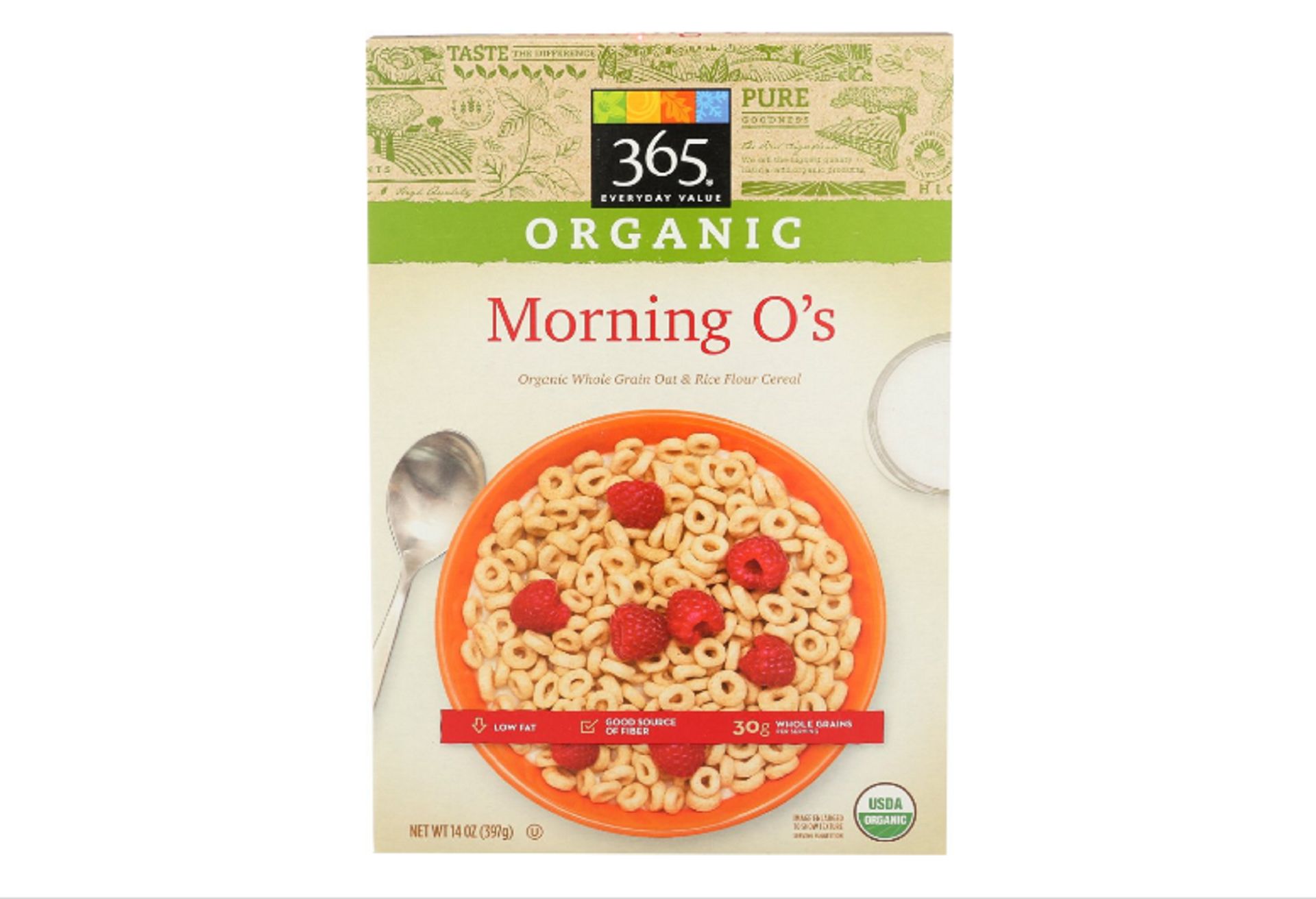 365 everyday value organic morning o's cereal
