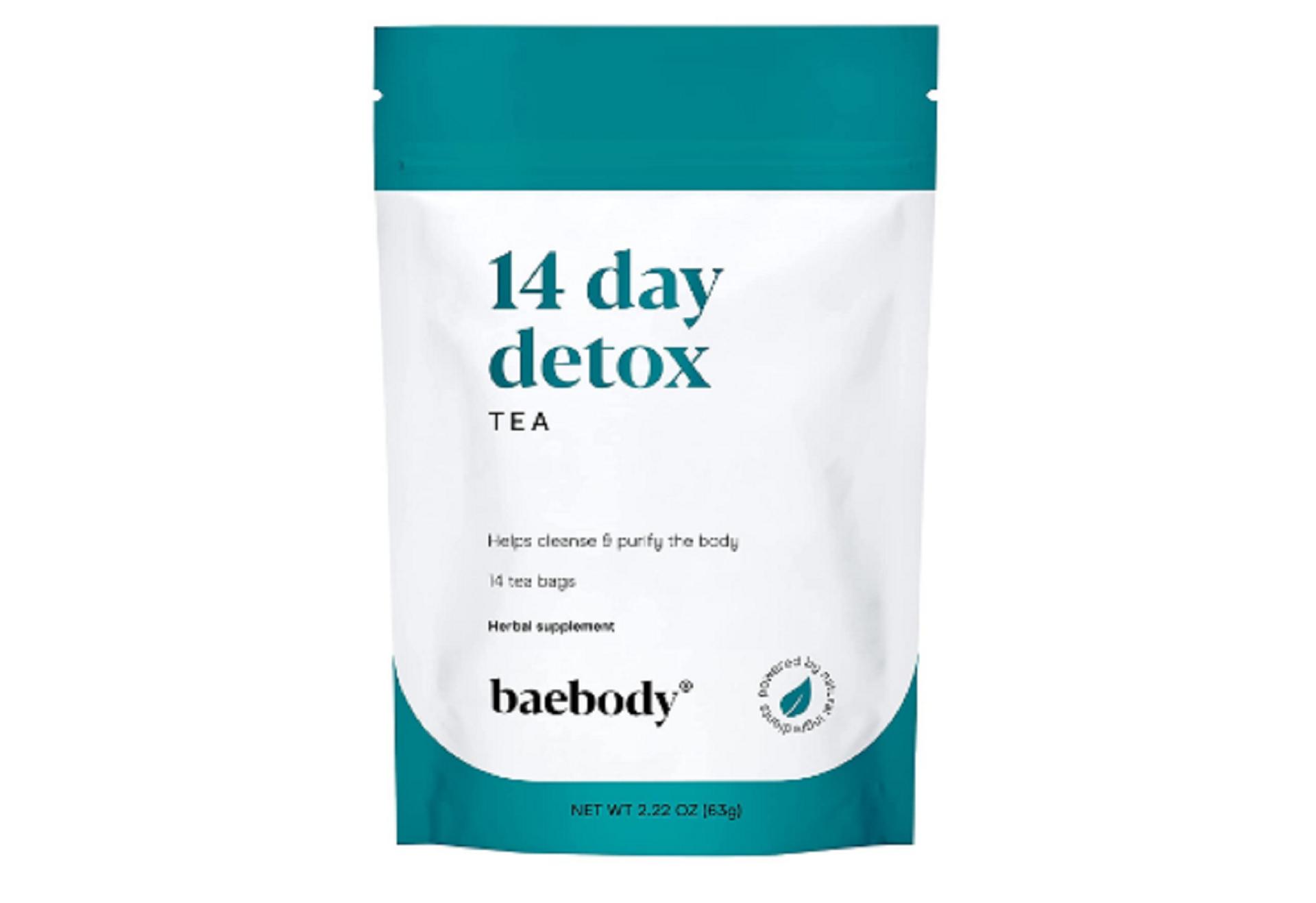 baetea 14-day teatox herbal detox tea
